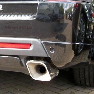 Autobiography Style Stainless Exhaust Tips for Range Rover Sport 2010-2013