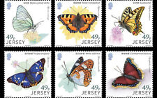 Jersey 2017 - Links with China – Butterflies stamp set mnh
