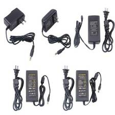 AC/DC 12V 1A 2A 5A 6A 8A Power Supply Cord Charger Adapter for LED Strip Light