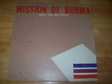 "Mission of Burma 12"" EP NEAR MINT Signals Calls and Marches STERLING MASTERED A+"