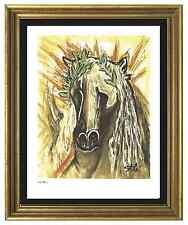 """Salvador Dali Signed/Hand-Numbrd Ltd Ed """"Horse of Spring"""" Litho Print (unframed)"""