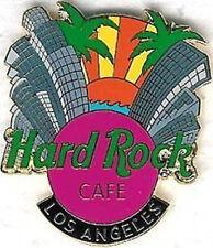 Hard Rock Cafe LOS ANGELES 2002 Sunset & City Skyline PIN with HRC Logo #13183