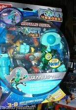 PLANET HEROES METALLIC SQUAD YURI URANUS MINT ON CARD