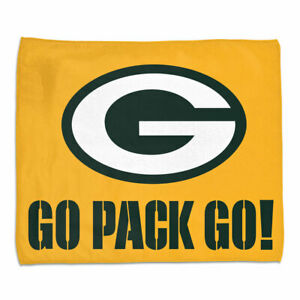 Green Bay Packers Full Color Rally Towel