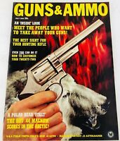 Vintage GUNS & AMMO Magazine July 1965 The Hot .44 Magnum Scores in the Arctic