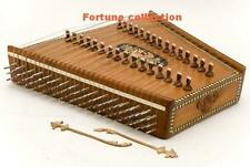 SANTOOR INDIAN CLASSICAL INSTRUMENTS WITH EXTRA STRINGS + CASE BOX +ACCESSORY