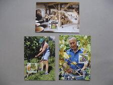 LIECHTENSTEIN, 3x maximumcard maxi card 2003, grapes wine agriculture