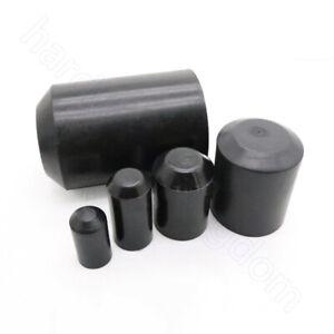 Ø8 mm - 130 mm Heat Shrink End Caps 2:1 Ratio Adhesive Glue Lined Cap 35KV Black