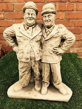 Large Laurel & Hardy Garden Statue Ornament Latex & Fibreglass Mould/Mold
