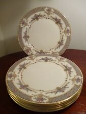 "Set of 6 x  Vintage Minton Persian Patterned - 9"" luncheon plates - VGC"