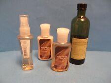 AROMATHERAPY BATH & BODY WORKS EUCALIPTUS SPEARMINT MASSAGE OIL + 3 BODY LOTIONS