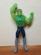 Max Steel action figure & translucent green disguise Burger King 2017 meal toy
