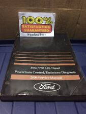2006 Ford F-650 750 Diesel 6.0L Powertrain Emissions Service Manual Oem Factory