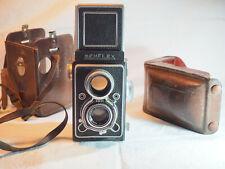 appareil photo reflex bi-objectif SEMFLEX FX avec étui