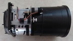 Unknown Motorized Zoom Projector Lens 70mm diameter rear - 100mm diameter front