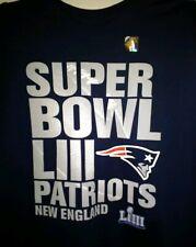 LARGE L Official 2019 Super Bowl LIII 53 Trophy New England Patriots NFL T Shirt