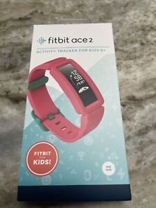 Fitbit Ace 2 Activity Tracker for Kids 6+ One Size - Watermelon / Teal