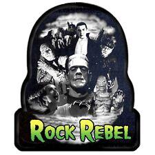 Universal Monsters Rock Rebel Bela Lugosi Patch Mummy Dracula Frankenstein Punk