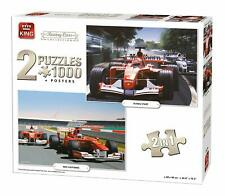 1000 Piece Jigsaws 2:1 Set Formula One King Racing Cars Puzzle Collection 05214