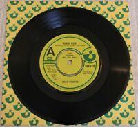 "Deep Purple – Black Night Harvest Records UK HAR 5178 7"" Vinyl Demo 1979"