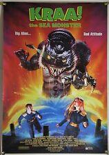 KRAA! THE SEA MONSTER ROLLED ORIG 1SH MOVIE POSTER FULL MOON MONSTER MASH (1998)