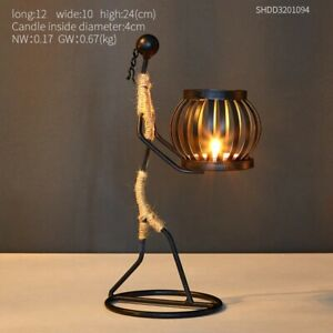 Metal table center candle holders for candles centerpieces garden candlestick ho