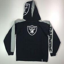 Raiders NFL Reebok Hoodie Youth Size L #384