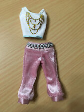 Barbie Doll My Scene Kennedy Fab Faces Fashion Glitter Top Belted Capri Pants
