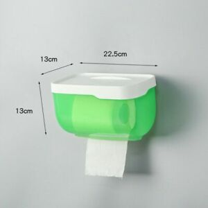 Tissue Storage Box 22.5×13x13cm Plastic Toilet Paper Holder Bathroom Accessories