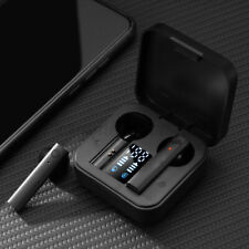 New listing 2021 bluetooth Headset Tws Wireless Earphones Double Led Display Stereo Touch