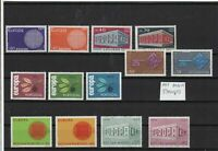 Mixed Europe stamps Ref 15909