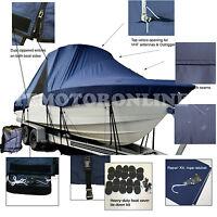 Seaswirl Sea Swirl 2301 Striper Center Console T-Top Hard-Top Boat Cover Navy