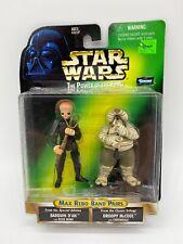 Star Wars Barquin Dan & Droopy McCool Walmart Exclusive Figure Set POTF 1998