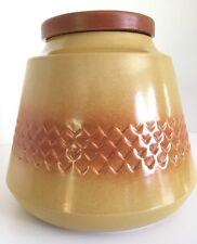 Large Diana Nefertiti Stoneware Canister - U203 Australian Pottery