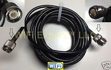 20 Feet RG58 TNC MALE PLUG to N female jack Jumper pigtail antenna cable USA
