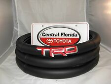 Black with Red Lettering TRD  Steering Wheel Cover