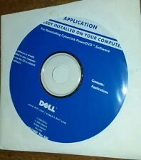 DELL Reinstall disc for cyberlink powerDVD software (May 2004) new sealed