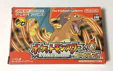 USED Nintendo GBA Pocket Monster Fire Red JAPAN Pokemon import Japanese game