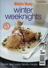 Women's Weekly - Winter weeknights - Mini Cookbook - SC - LIKE NEW CONDITION