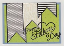 Blank Handmade Greeting Card ~ HAPPY FATHER'S DAY ~