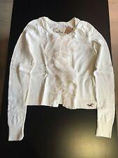 HOLLISTER Sweater White Woman Medium