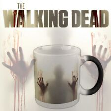 Walking Dead Zombies Ceramics Coffee Tea Mug Cup Heat Sensitive Color Changing