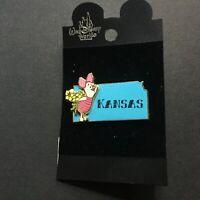 State Character Pins Kansas Piglet Disney Pin 14938