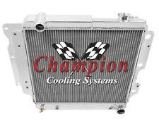 3 Row 1987-2006 Jeep Wrangler Aluminum Chevy Conversion Champion Radiator