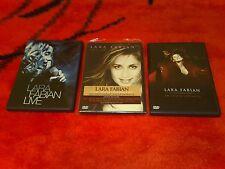 Bundle LOT 3 DVD+PHOTO:LARA FABIAN-Live+En Toute Intimite+Promo Intime
