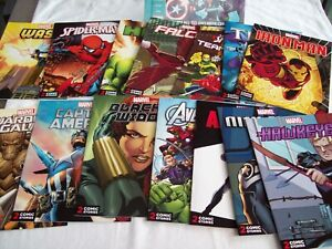 """""""MARVEL ULTIMATE COLLECTION"""" 14 COMICS & CARDBOARD CASE. NEW. 2016"""