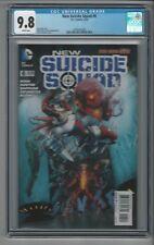 New Suicide Squad #6 CGC 9.8 NM/M DC Comics Harley Quinn Cover 3/15