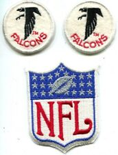 Atlanta Falcons Embroidered NFL Team Patchs & NFL Embroidered Shield Patch