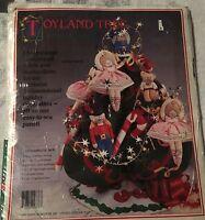 Toyland Tree by Daisy Kingdom Christmas Fabric Panel 3D Decoration 1991 New 9876
