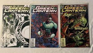 GREEN LANTERNS REBIRTH DC COMICS #1 2 & 4 LIT OF 3 JOHNS VAN SCIVER